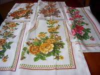 Floral Vintage Tablecloths