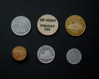 Vintage tokens and coins