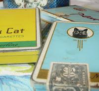 Vintage Cigarette Tins
