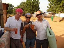 Drinking a Fanta in Bongo