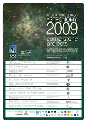 IYA 2009 Cornerstone Projects official poster
