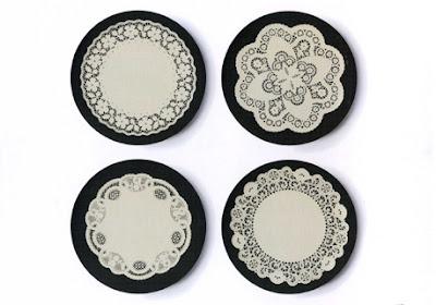 particular aesthetic: melamine plates