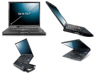 ThinkPad x61 laptop
