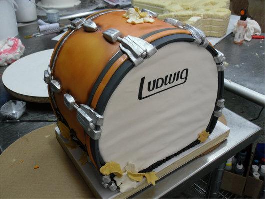 Band cake pic