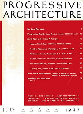 gregory ain altadena - park planned homes - progressive architecture 1