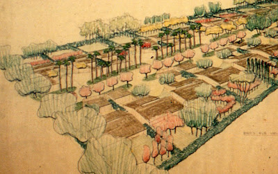 gregory ain and garrett eckbo - park planned homes altadena - streetscape concepts - detail