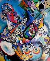 """""""Composición nº 218"""" de Kandinsky - 1919"""