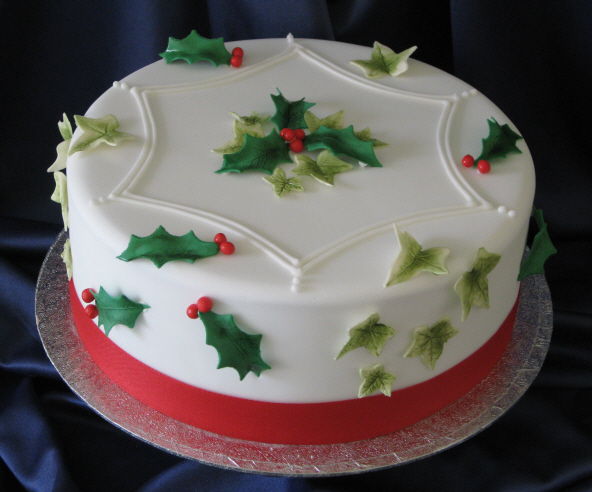 images of christmas cake - photo #27