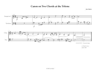 A Canon A Day Major Chords And Tritone