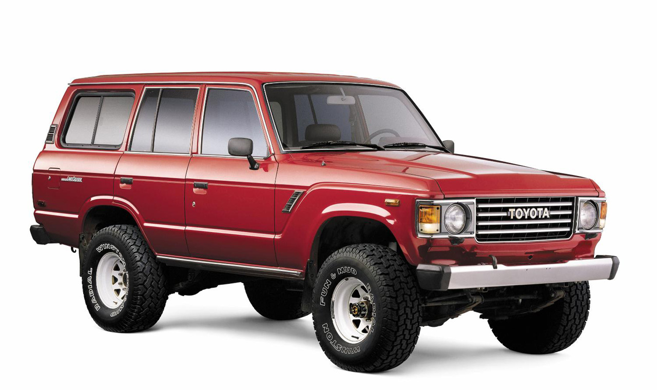 Young man blog toyota land cruiser in 60 years