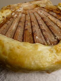 Coquille St Jacques lutée au beurre de gingembre coriandre et citron vert