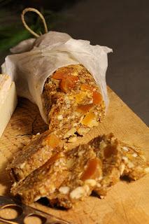 Saucisson de fruits secs pour accompagner vos fromages
