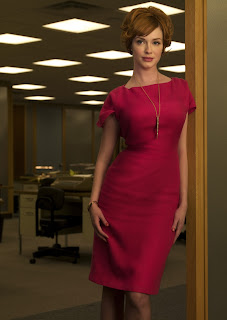 joan holloway harris christina hendricks mad men sixties sexy
