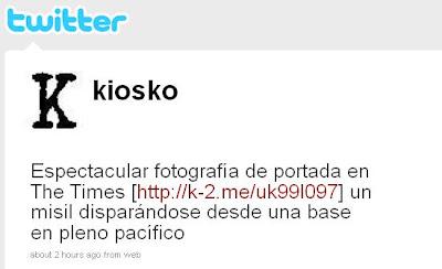 Kiosko.net en twitter