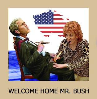 Welcome Home Mr Bush