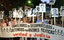 Marcha en memoria del golpe de marzo de 1976