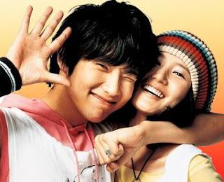 Ji Hyun Woo and Im Jung Eun Fly High Movie