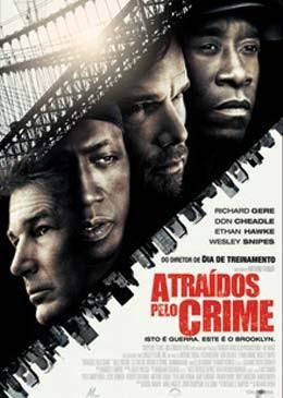 Filme Poster Atraídos pelo Crime DVDRip RMVB Dublado