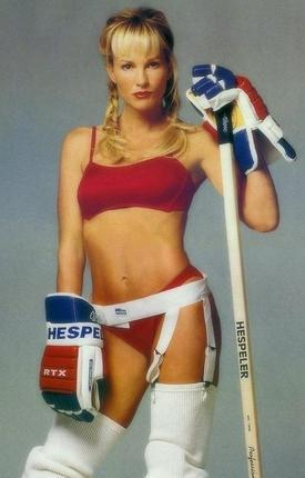Today In Nhl History Gretzky S Wife Knocked Out