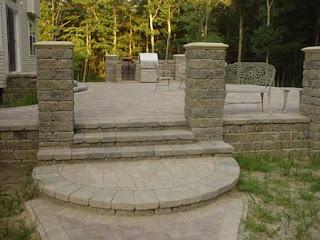 building paver patio: built raised patiompavers inc.