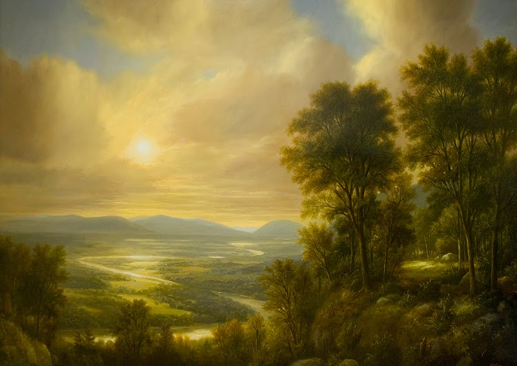 thomas cole art critique the oxbow Thomas cole's 'the oxbow' (1836) thomas cole's and a richer source of references for the show's implicit political critique cole was bowled over by.