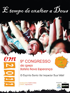 9º Congresso Espiritual da Igraja Batista Nova esperança
