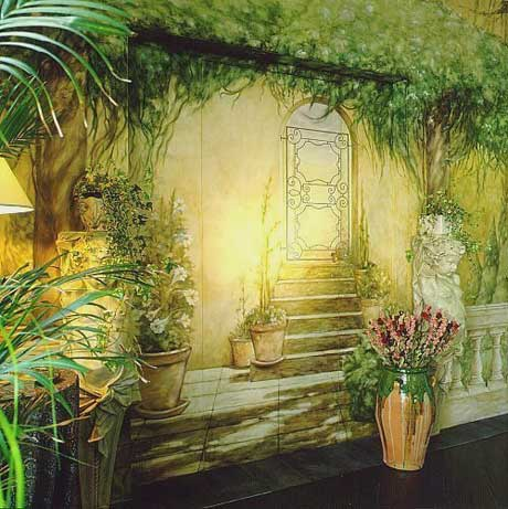 The best painting and art design 3d nature wall painting for Best paint for a wall mural