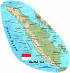 Map of Sumatra :