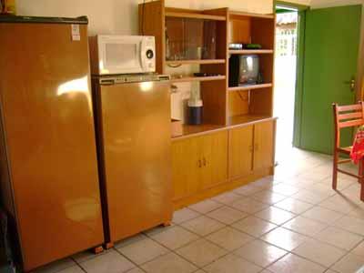 Morada do paraiso cocina y comedor diario for Heladera y cocina juntas