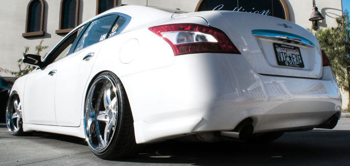Ever since this new Nissan Maxima body style dropped I couldn't wait ...