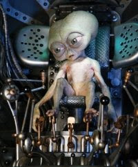 We will have new aliens in Men in Black III.