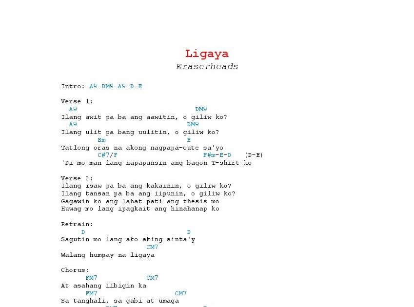 Magazine by eraserheads lyrics