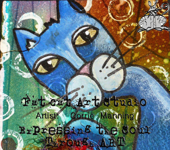 Fat Cat Art Studio / Artist: Corrie Manning... Expressing the Soul through ART