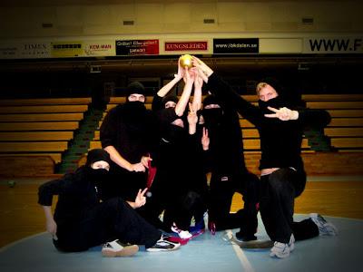 Black Ninjas - segrare i HSV Dodgeballtournament