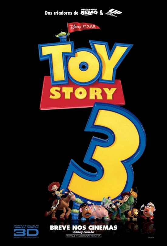 Yellow Mellow! Four New International Posters Toy Story 3!