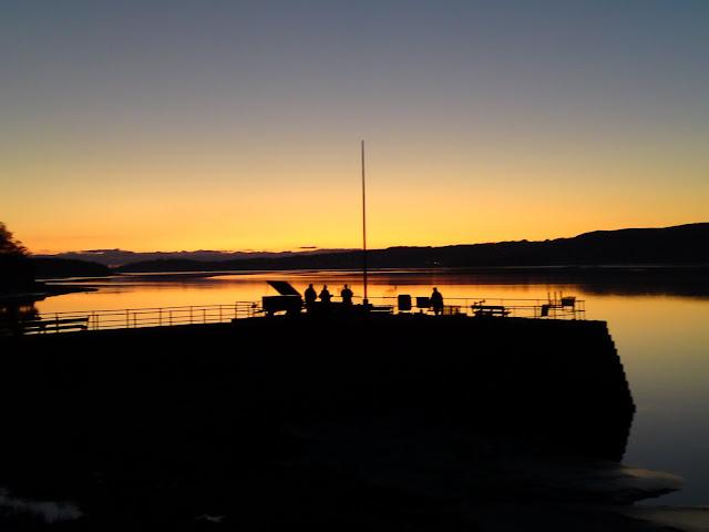 Sunset Arnside Pier