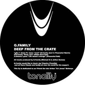 G-Family  ::  Deep From The Crate EP