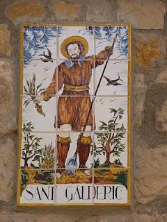 Sant Galderic,  patró tradicional dels pagesos catalans