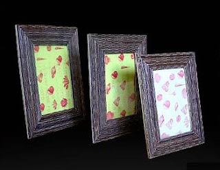 Beautiful Antique Frame of Natural Handicraft_002