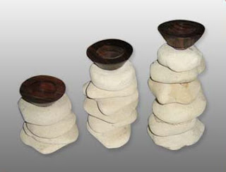 Romantic Candle Holder of Natural Handicraft_002