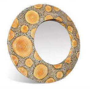 Sketch limb wood decorative mirror