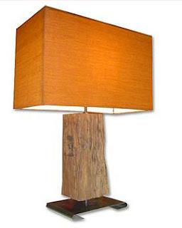 charm floor lamp of sonokeling wood
