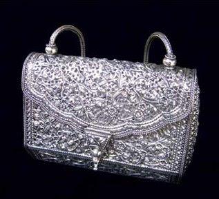 Antique Silver Handbag