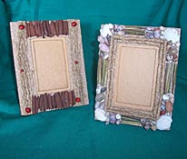 Antique Frame from Natural Materials