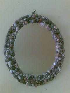 Decorative Sea Shell Mirror