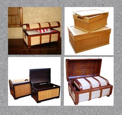 Natural Handicraft Box, basket, box, wood handicraft