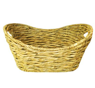 Antique baskets from water hyacinth fibers, basket, antique basket, natural handicraft, organic handicraft