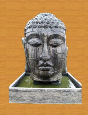 Weeping Buddha Water Fountain, water fountain, stone handicraft, antique stone