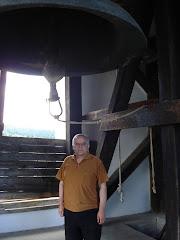 În clopotniţa Mănăstirii Neamţului