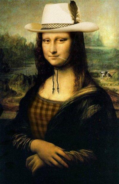 Y Lisa se viste de cowgirl...